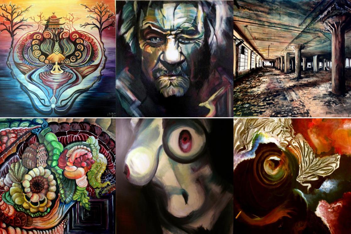 Julie Bellule Artiste peintre - site web par Alysée Flaut
